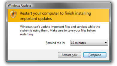 Photo of How to Preventing Reboot After Installing Windows 7 Update