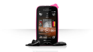 Photo of Sony Ericsson Mix Walkman, a Mobile Phone with Zappin Button