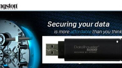 Photo of Ultra-Secure DataTraveler 6000 USB Flash Drive from Kingston
