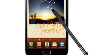 Photo of Samsung Galaxy Note, The combination of Smartphone and Tablet PC