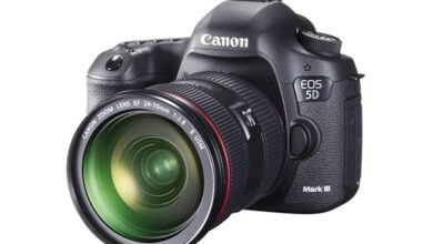 Photo of Canon EOS 5D Mark III Full Frame 22 Megapixel