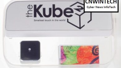Photo of The Kube 2, MP3 Player with Smallest Touch System around World's