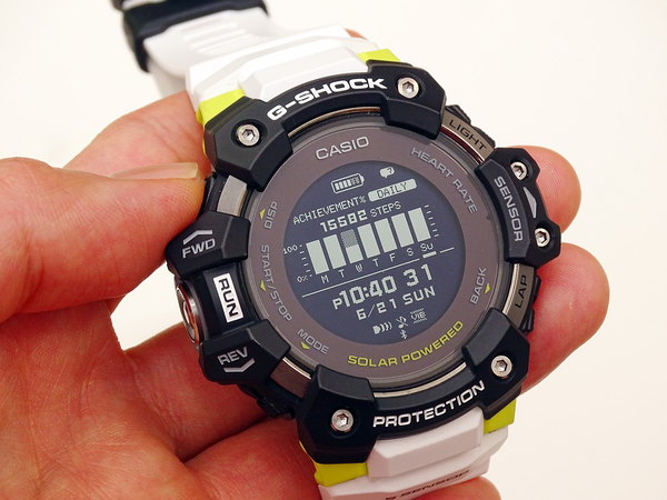 G-SHOCK GBD-H1000 Review, the First Heart Rate Sensor Enhanced, Specialized for Sports 9