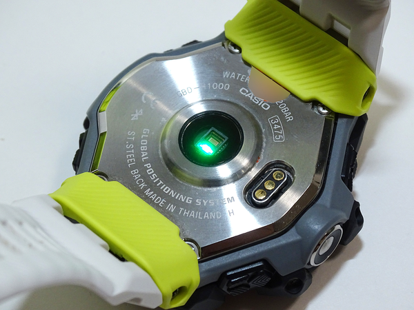 G-SHOCK GBD-H1000 Review, the First Heart Rate Sensor Enhanced, Specialized for Sports 3