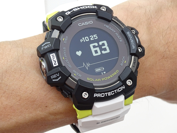 G-SHOCK GBD-H1000 Review, the First Heart Rate Sensor Enhanced, Specialized for Sports 6