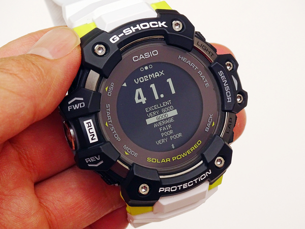 G-SHOCK GBD-H1000 Review, the First Heart Rate Sensor Enhanced, Specialized for Sports 8